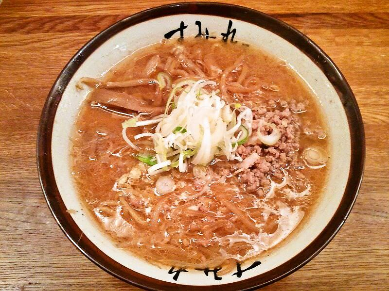 すみれ札幌すすきの店_味噌ラーメン