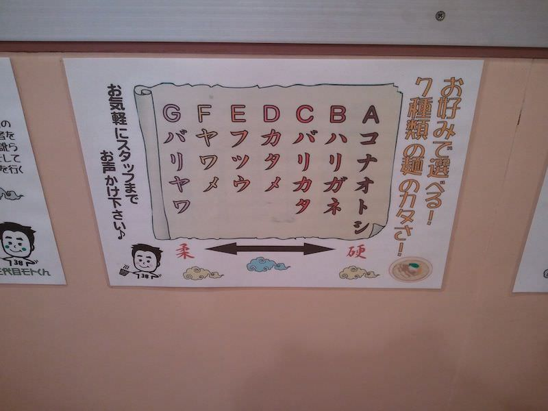 支那そば三八徳島駅前店_麺硬さ