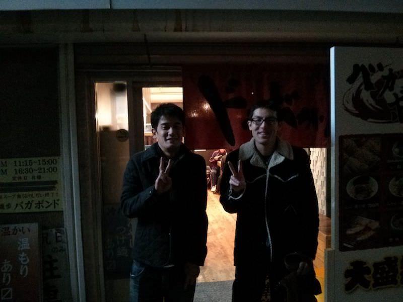 麺歩バガボンド_記念写真