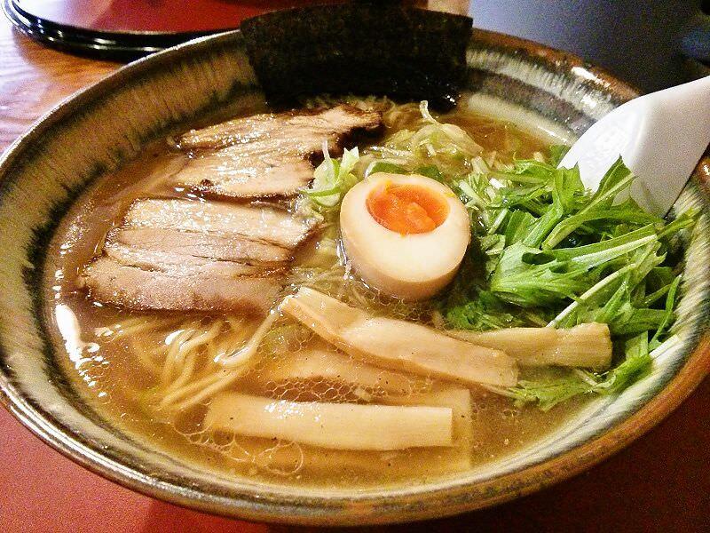魚介ラーメン武蔵_魚介ラーメン大盛
