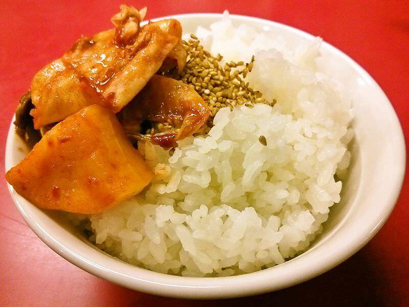 支那そば 北熊 総本店_ご飯(小)
