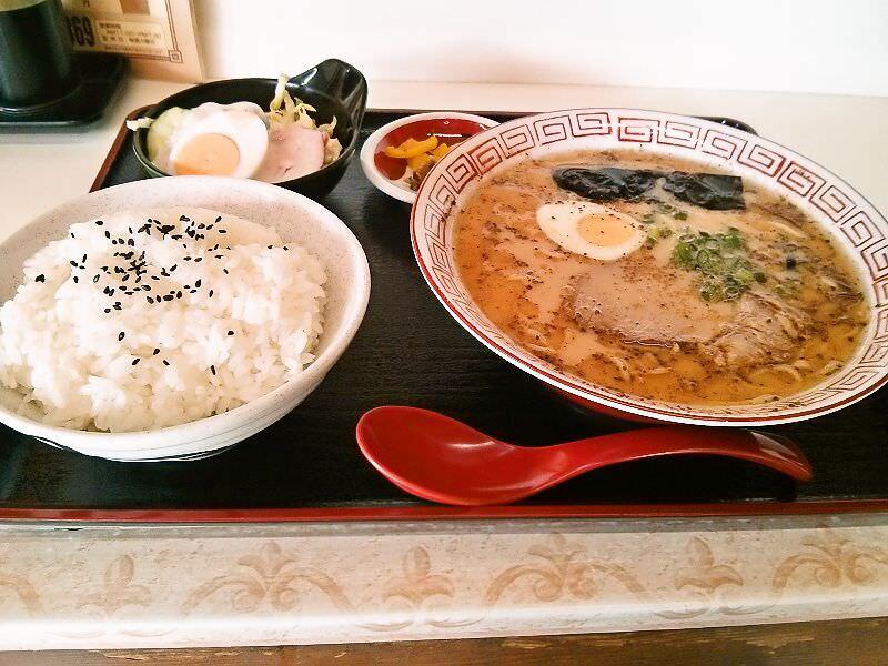 龍峰_ラーメン定食