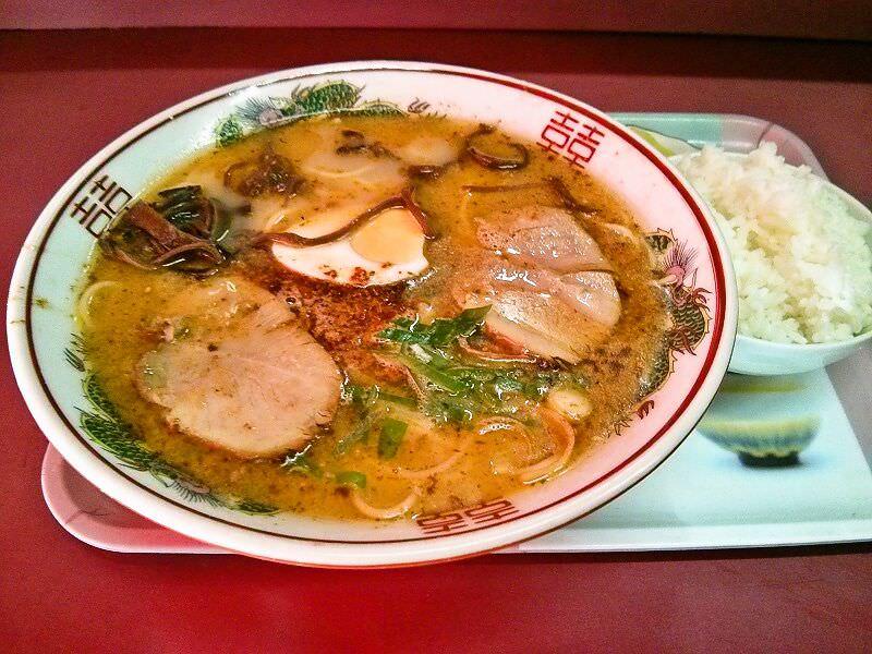 味乃文化城_文化ラーメン定食