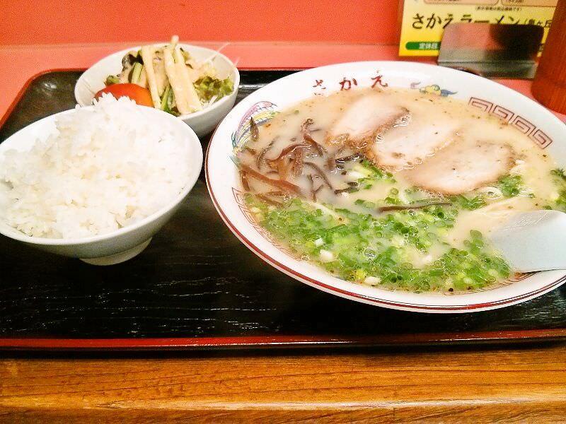 さかえラーメン_ラーメン定食