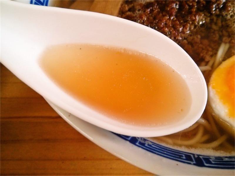 牛骨ラーメン美庵 スープ