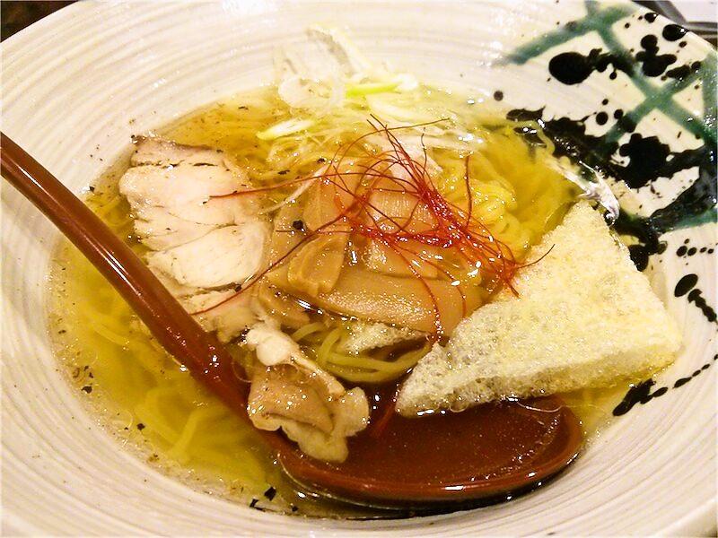 麺屋かもめ 鶏と魚介の塩ラーメン