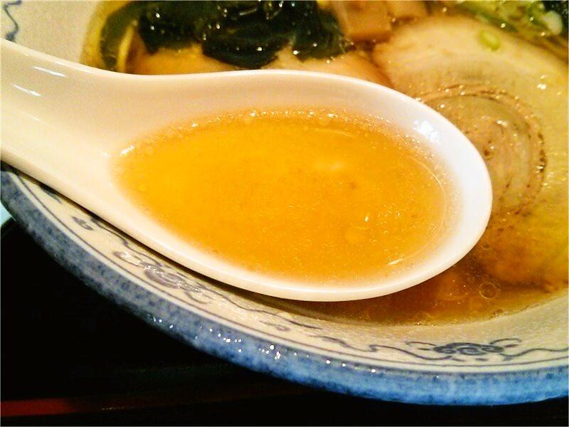 らーめん栄力 スープ