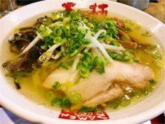 三楠さくら通り店-魚介塩ラーメン