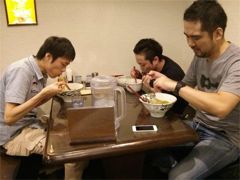 麺屋かもめ 記念写真1