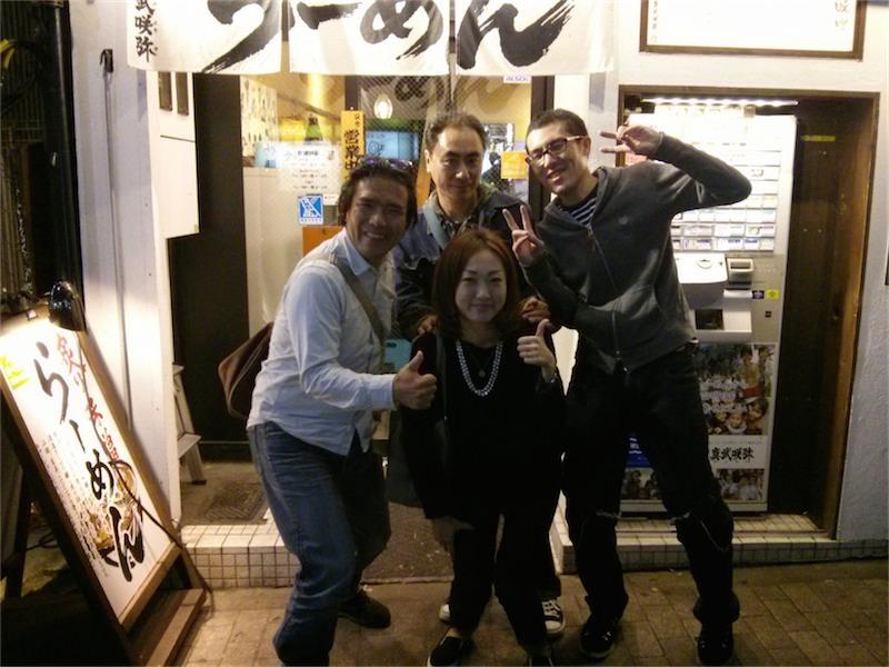 真武咲弥 渋谷店 ラーメンマン達3