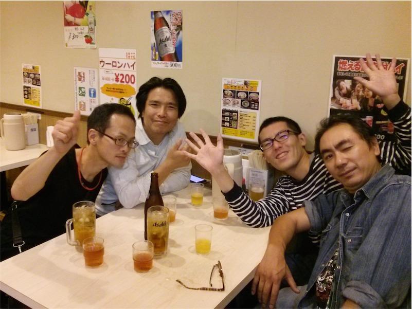 桂花ラーメン新宿西口店 記念写真1