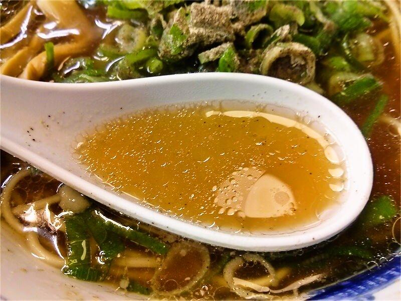 第一旭 三宮店 スープ