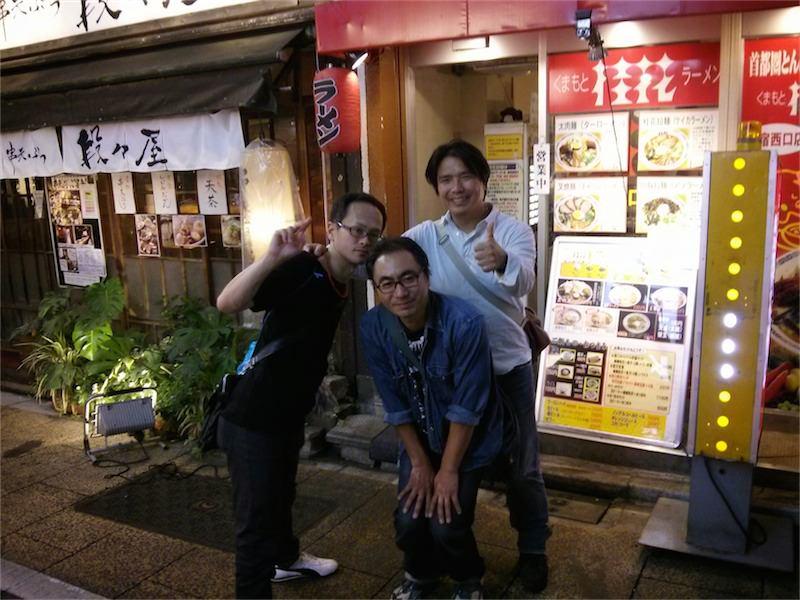 桂花ラーメン新宿西口店 記念写真4