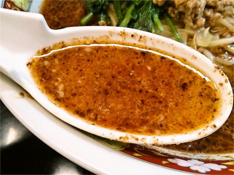 馬賊 浅草本店 スープ