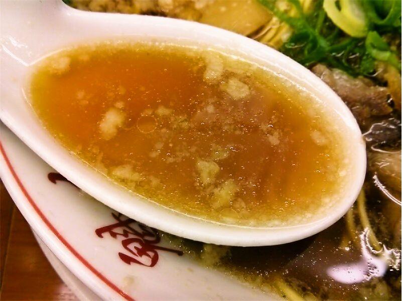 魁力屋本店 スープ