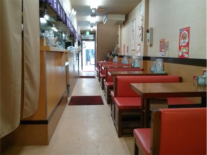 浅月本店 テーブル席