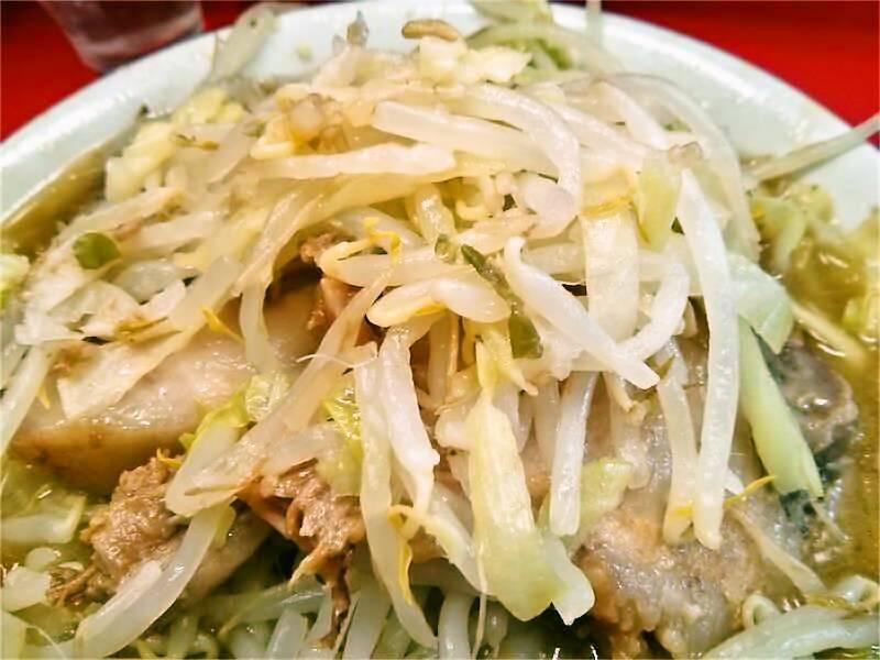 ラーメン二郎三田本店 野菜