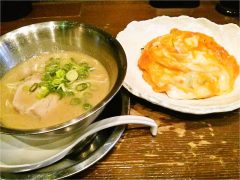 ラーメン極-チャーシューライス定食