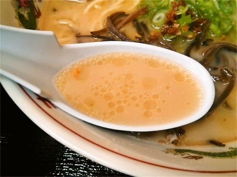 ラーメン小龍 スープ