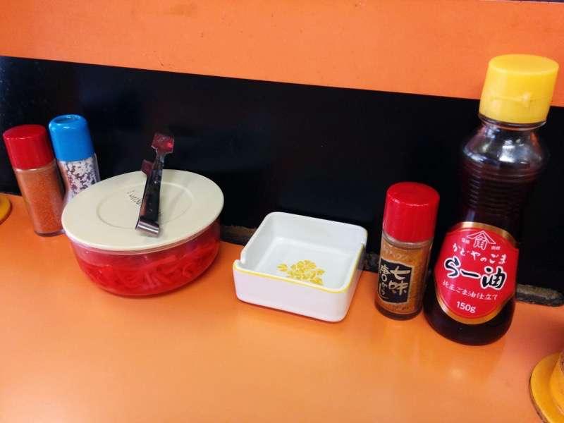 えびすラーメン 調味料1