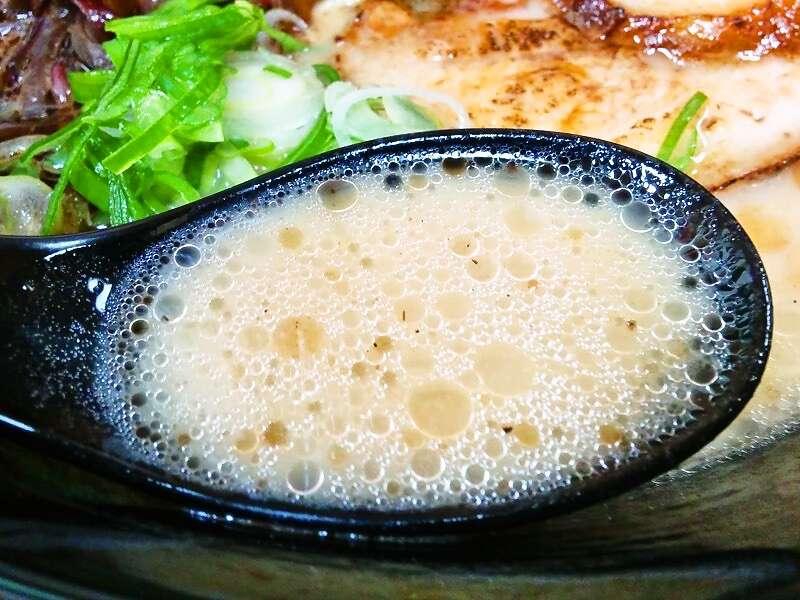 白龍健軍店 スープ
