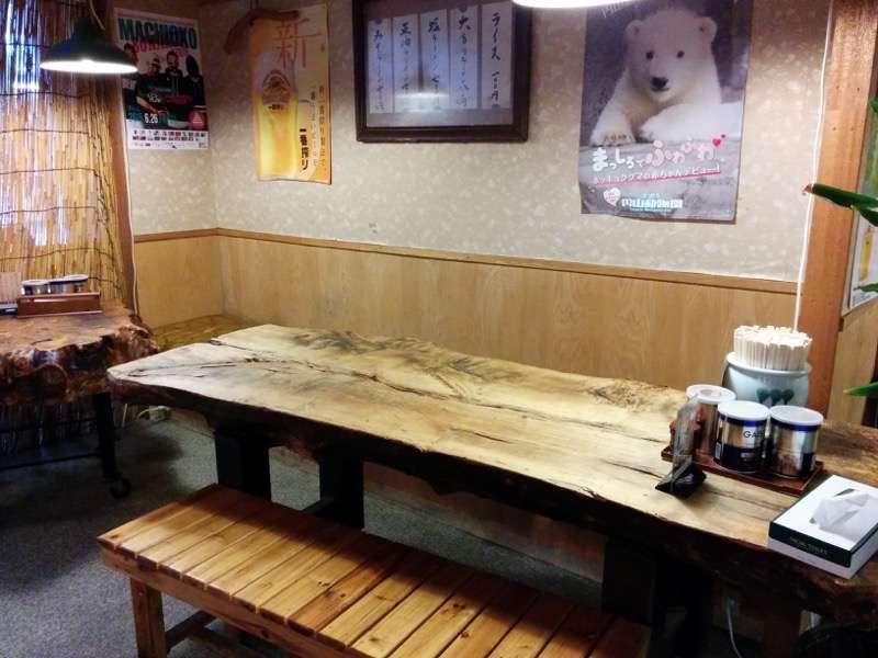 喜来登 テーブル席1