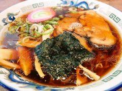 夏堀-醤油ラーメン