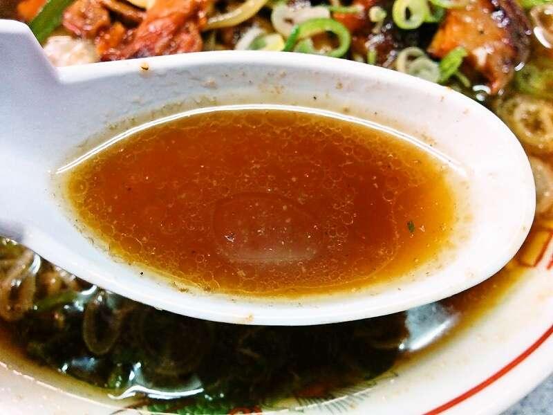 ラーメンひまわり スープ