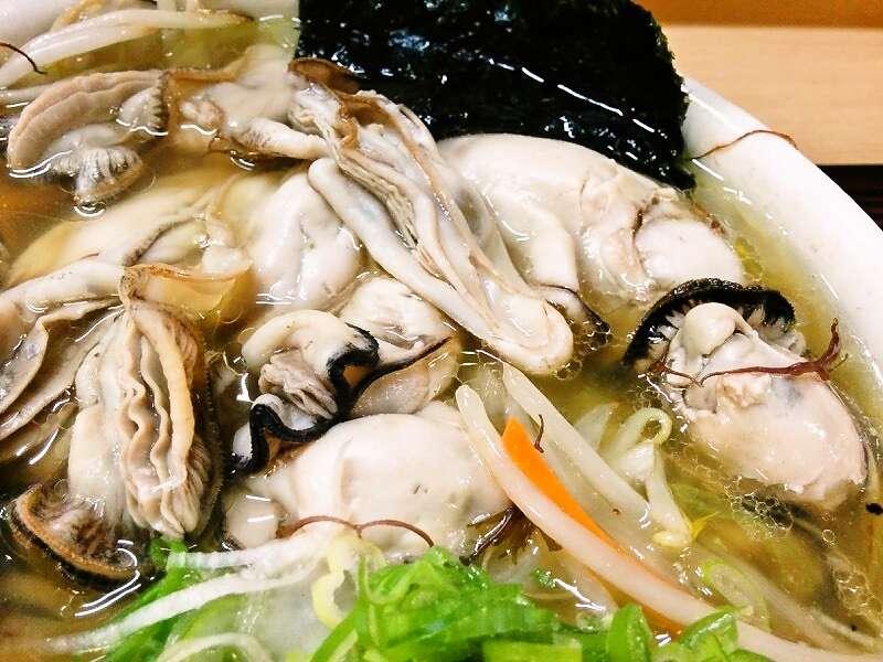 魚一 牡蠣