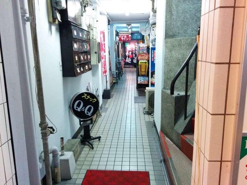 亜和麺 入口