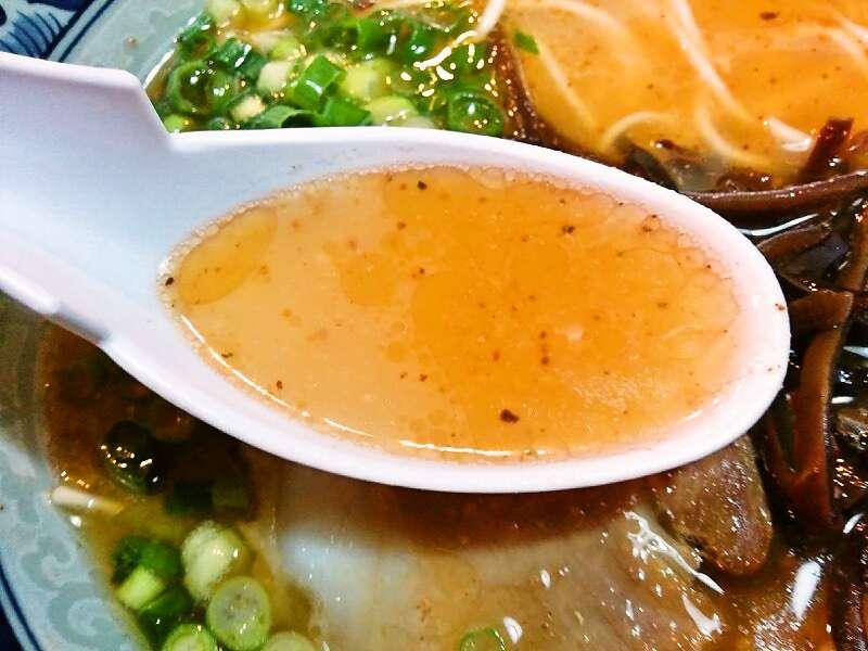 龍虎西銀座店 スープ