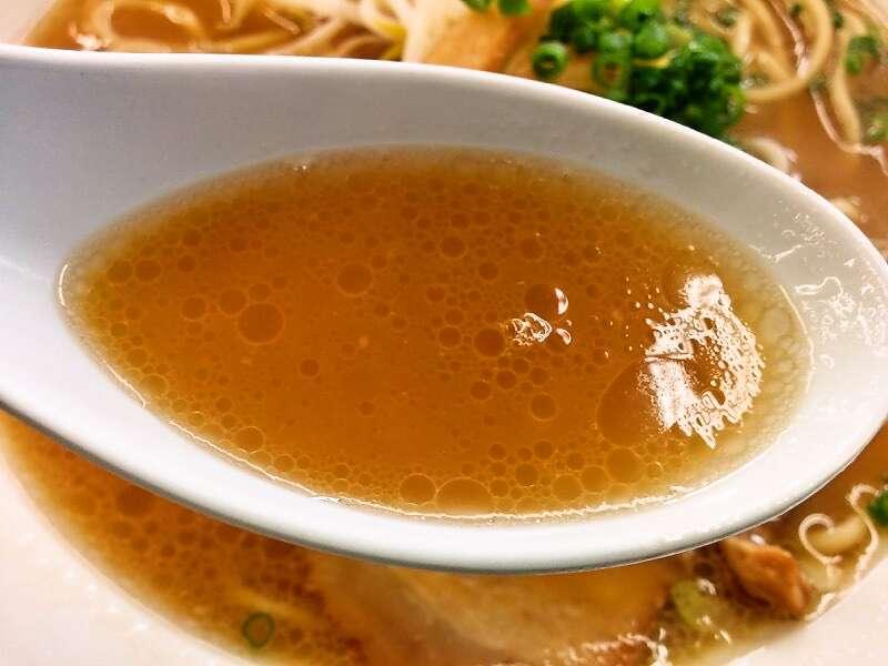 ラーメンきむら北店 スープ