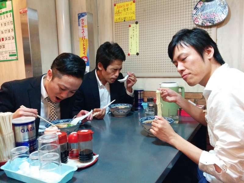 龍虎西銀座店 ラーメンマン2