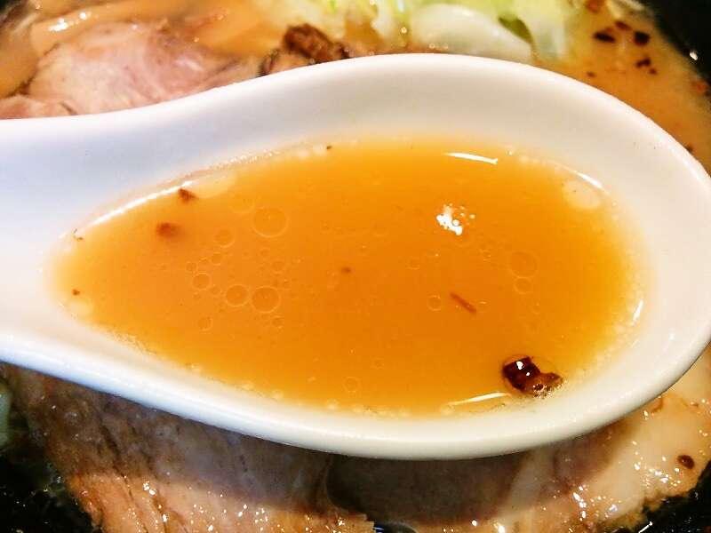 麺人佐藤 スープ