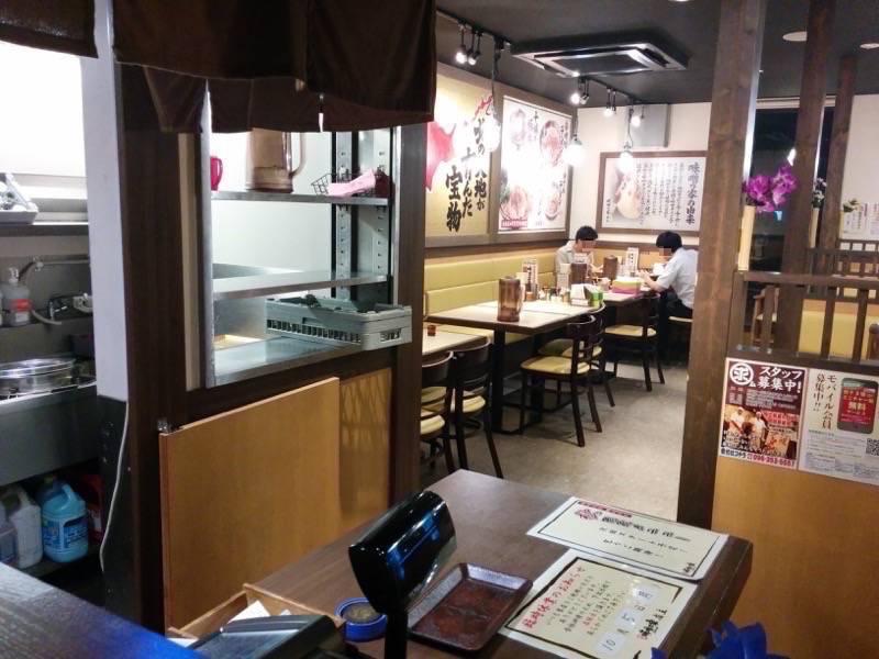 味噌乃家 浜線店 テーブル席