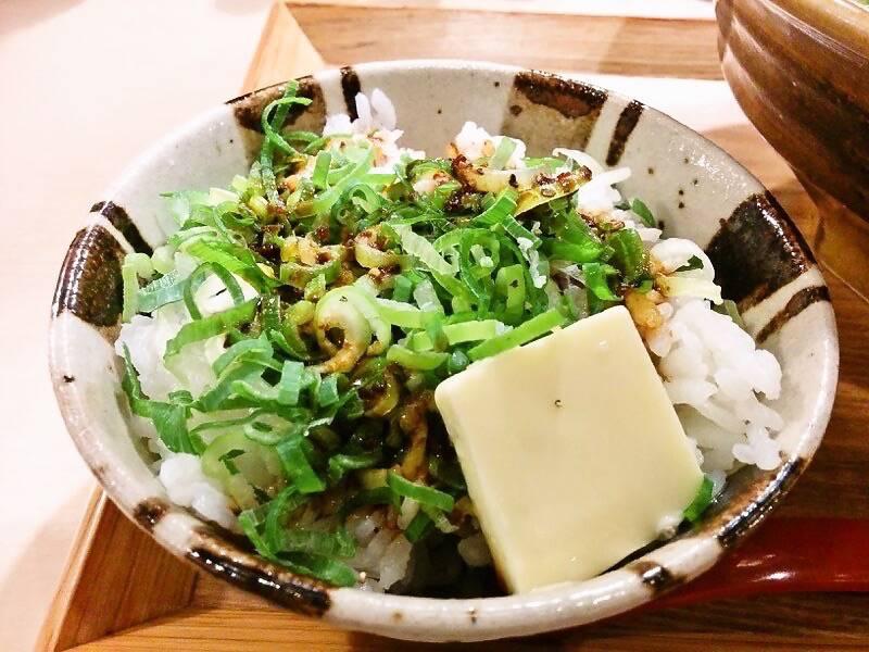 味噌乃家 浜線店 バターしょうゆ飯