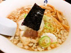 高松食堂-醤油こってりラーメン