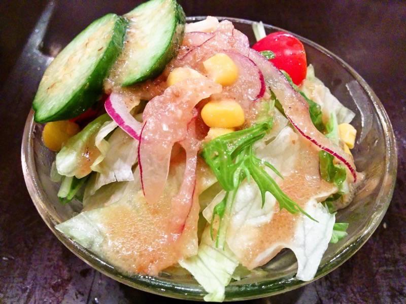 柿の木熊本本店 サラダ