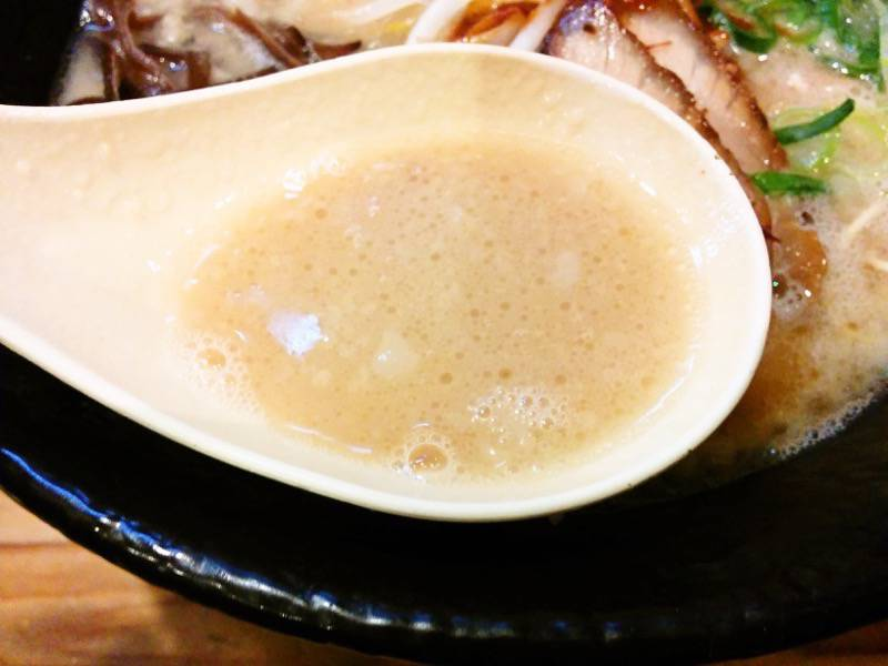 龍の家ワンダーシティー店 スープ