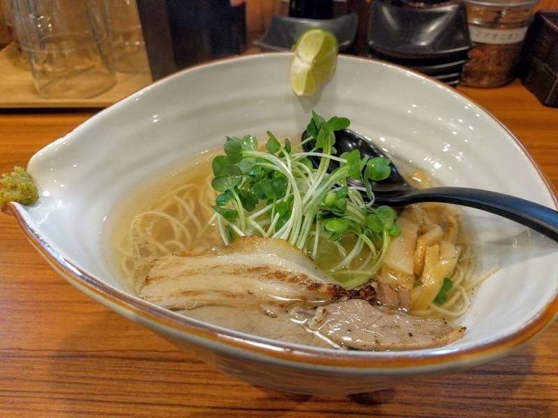 麺場軌跡熊本本店 鯛塩ラーメン1
