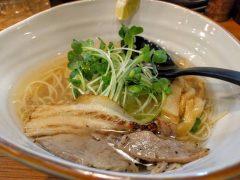 麺屋軌跡熊本本店-鯛塩ラーメン