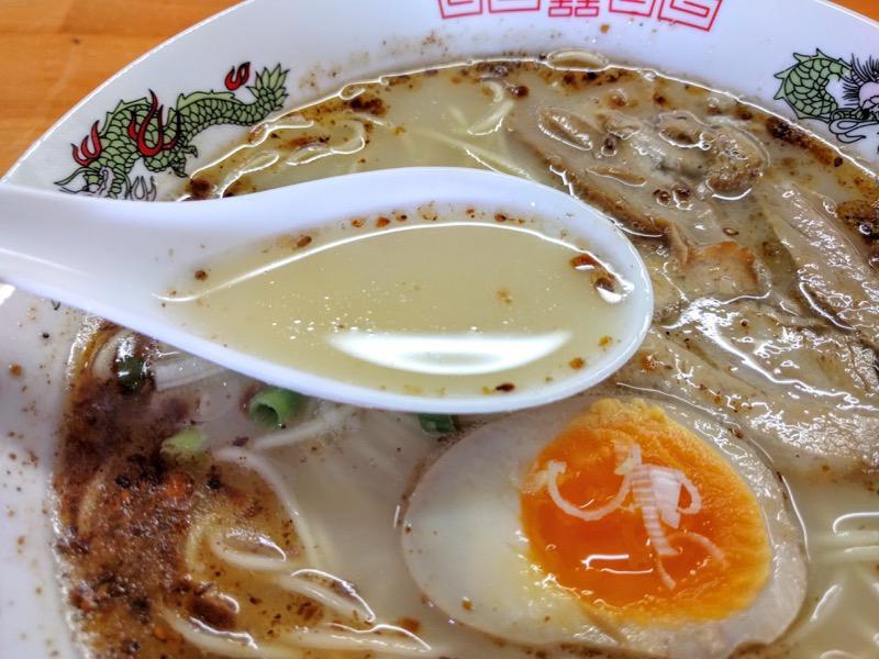 らーめん氷龍 スープ