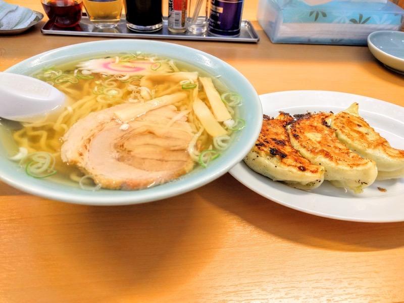 大金 ラーメンと餃子