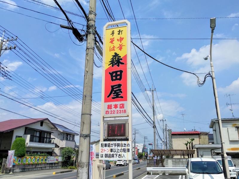 森田屋総本店 看板