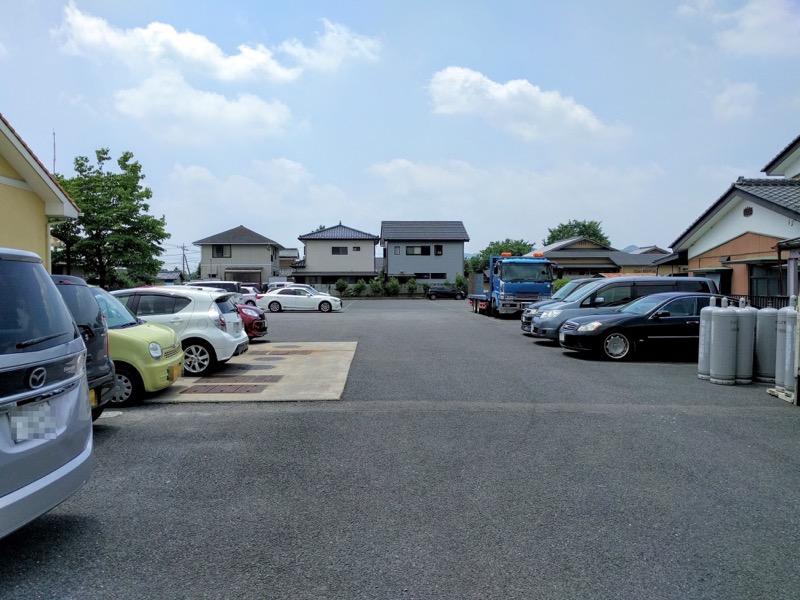 おぐら屋 駐車場
