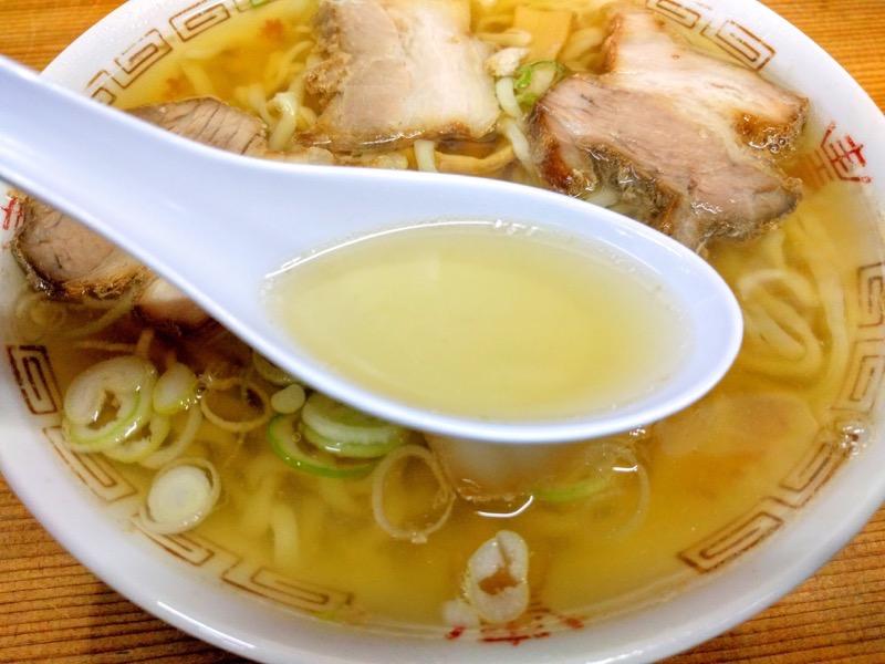 坂内食堂 スープ