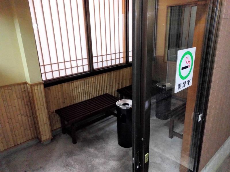 あおきや 喫煙室