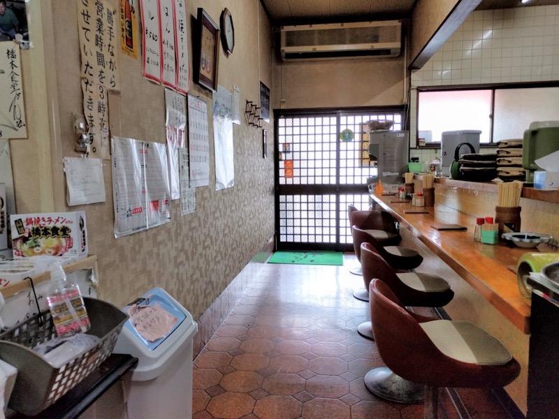橋本食堂 カウンター席