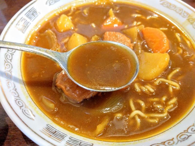 大衆食堂正広 スープ