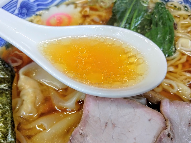とら食堂 スープ